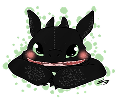 Toothless RQ by SkeletonLete