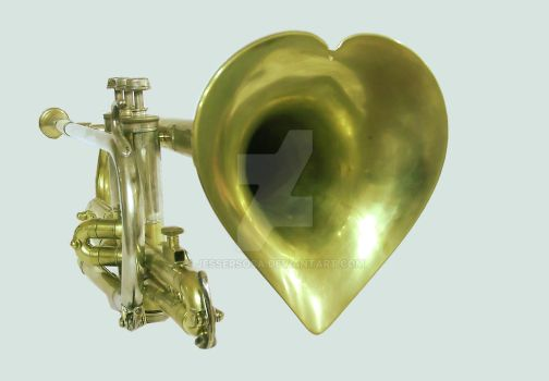 Trumpet Heart by jessersosa
