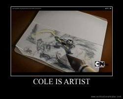 Cole is Artists! by Wolfp3lt