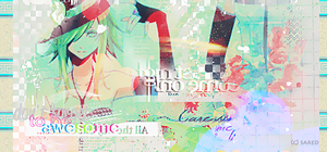 VOcaloid signature by saredGfx