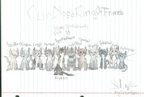 Spottedheart and his Clan: WindClan by SlowlyDriftingOff
