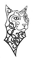cat tattoo 02 by wolfds