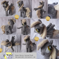 Derpy Hooves Custom Plush by SetariPlush