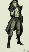 Liquid Snake by LucaSpeed