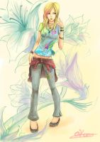 Cool Lily Avril by Qkung