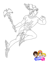 Hermes by Writer-Colorer
