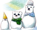 Polar Bear Cafe | Merry Christmas by OroNoDa