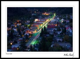 Ouray by Night by kennedmh