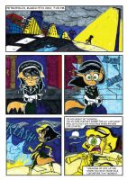 TEAM FLUX: A TUFF ESCAPE Comic Page 1 by BreakoutKid