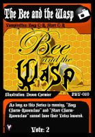 PBV - TCG - Bee and the Wasp by PlayboyVampire