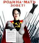 Motherland Is Calling by Soviet-Superwoman