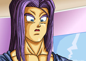 Future Trunks Confu REMASTERED by JJJawor