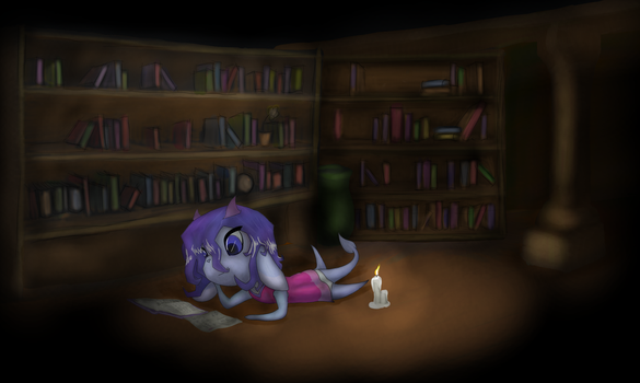 At The Library by Slag-Napalm