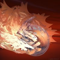 T2 Fractal Flame Fireball 613 by GraphicLia