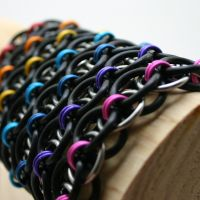 Stretchy Helm Bracelets I by Utopia-Armoury