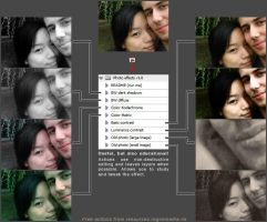 Photo effect actions 1 by chain