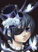Ciel Phantomhive by canarycharm