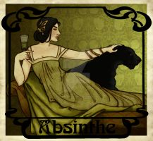 Absinthe (Ft. Lilibel Snape) for Joeyv7 by JosieCarioca