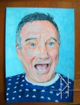 Robin Williams tribute drawing by Patrick-Kennedy-Art
