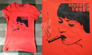 Nouvelle Vague T-shirt II by saniday