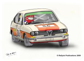 Rallyist Alfasud by Rallyist1