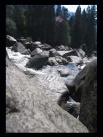 Yosemite River by BlueArctic4