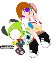 Gir And Alice Art by MayandBubbles