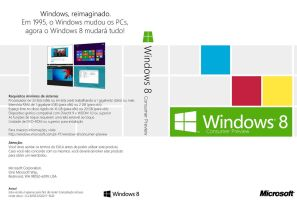 Windows 8 Consumer Preview DVD Cover (pt-PT) by Misaki2009