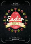 Easter Party Flyer Poster by Mariux10