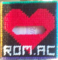 [ROMAC] Tissue Cover - Heart Panel by AprilMoonshine