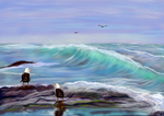 Seascape Imagination4 by shmuckwolf