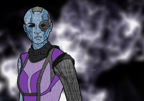 Nebula Portrait by MsBehavior