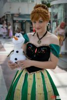 Anna and Olaf by Stunt-Sheep