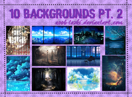 10 Backgrounds Pt. 2 by n00b-toshi