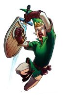 Jumping Link by Murfish
