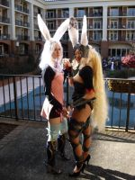 Cosplay: Viera of the Wood by burloire