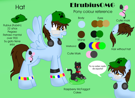 ElrubiusOMG - Pony reference by LouderSpeakers