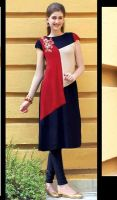 Tunic in Multicolor Shade Georgette by ALISANIXON