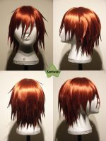 Wig Commission - Akaito by kyos-girl