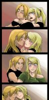 FMA: EdWin: evolving relationship by Sofie3387