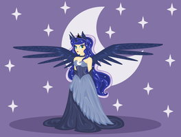 Princess Luna by EarthEquine