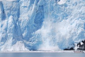 Falling Glacier Stock 1 by prints-of-stock