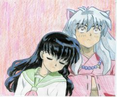 Inuyasha and Kagome2 by ButterflyAngel