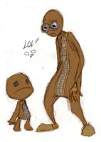 9 and Sackboy by Zeakari