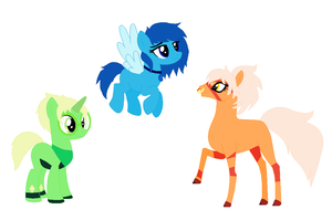 More Gem Inspired Ponies :ADOPTS: CLOSED by Rebellious-Firefly