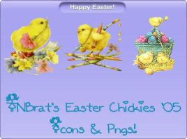 TNBrat's Easter Chickies '05 by TNBrat