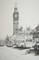 Big ben original by NinjaKuma
