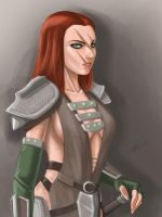 Aela the huntress by chunkenn
