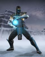 Mortal Kombat : Sub Zero by republic190