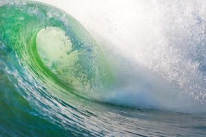 California, The killer wave by alierturk